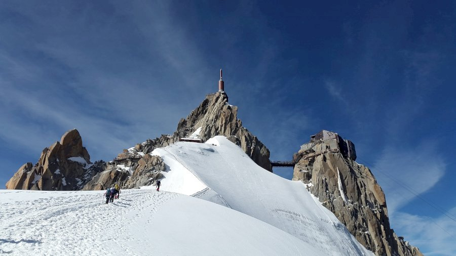 Mont Blanc Besteigung - Express