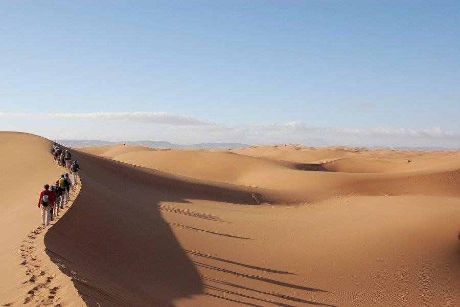 Sahara Wüsten Wanderung & Wild-Camping