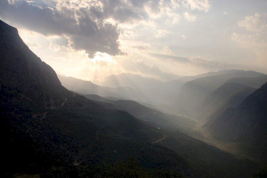 Trekke von Parnassus bis Delphi