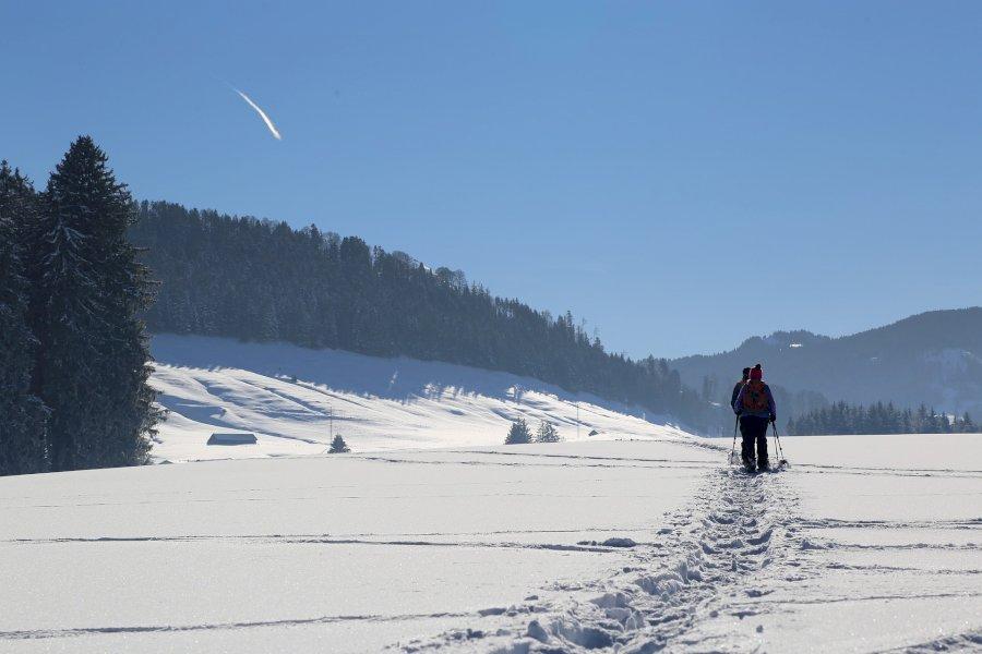 Schneeschuhwanderung im Tatra Gebirge