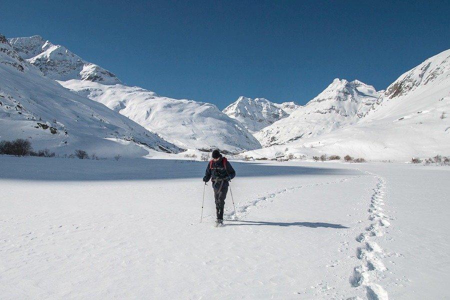 Schneeschuhwandern um Chamonix