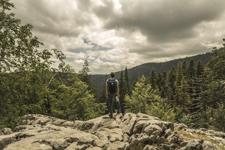 Trekke durch Montenegro's Orjen Gebirge