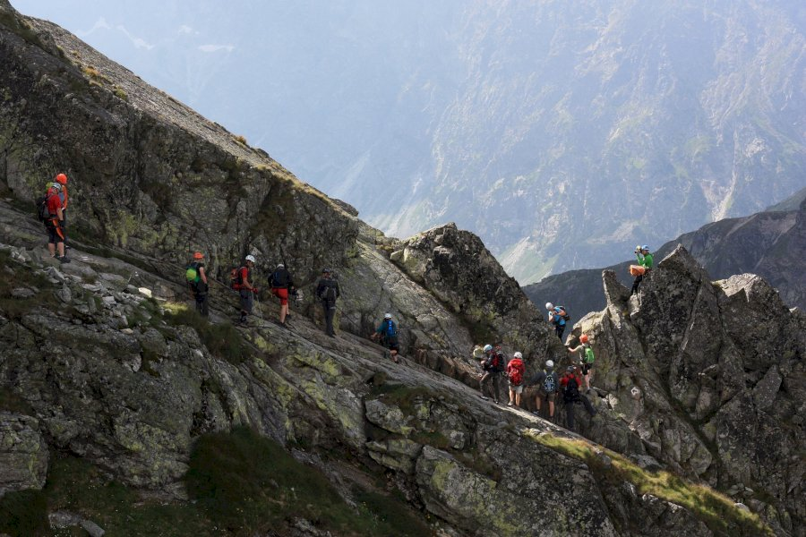 Bezwinge den Orla Perć Klettersteig